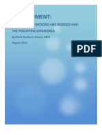 Development and Models of Public Administration