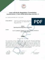 DERC Transmission Tariff Regulations