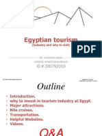 Egyptian Tourism
