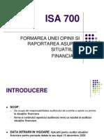 ISA 700 R Revised