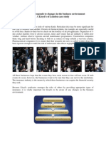 Business Environment Case Study