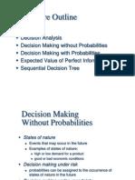 Decision Models