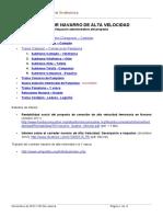 INFORME DE SITUACIÓN DEL CORREDOR NAVARRO DE ALTA VELOCIDAD