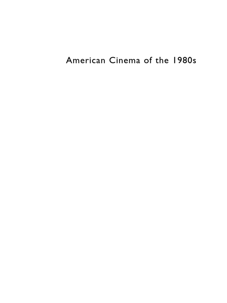 American Cinema In The 1980s Ronald Reagan Cold War Electrical Wiring Diagram For 194247 Chevrolet Passenger Cars