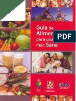 Guía de Alimentación y Nutrición Para Una Vida más Sana