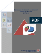 FINANCIAL STATEMENT ANALYSIS OF FINANCIAL SECTOR 2007-2011 CY06 CY07 Share Capital