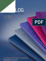 Katalog Rokovnika i kalendara za 2013 godinu