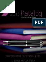 Katalog propagandnog materijala za 2013. godinu
