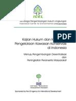 1998-11 Kajian Hukum & Kebijakan Kawasa Konservasi Di Indonesia -- Peranserta Masy