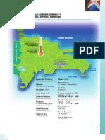 Datos Generales, Ambiente Economico y de Negocios de La Rep. Dom.