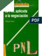La programacion neuro-linguistica aplicada a la negociacion. Chantal Selva