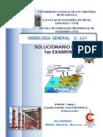 SOLUCIONARIO DE HIDROLOGIA