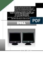 Dell M992 Color Monitor Quick Setup Guide