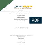 pre informe de química orgánica