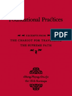 117308950 dBang Phyug Rdo rJe the IXth Karmapa Foundational Practices Excerpts From the Chariot for Travelling the Supreme Path