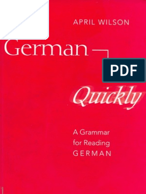 German Quickly Grammatical Gender Adjective