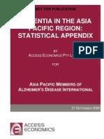 About Dementia; Statistics - AsiaPacificEpidemicSept06 - Statistical Appendix