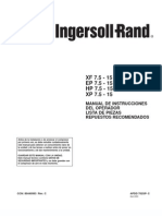 Compresor Ingersoll Rand 15 hp