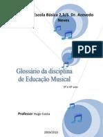 Glossario Ed Musical