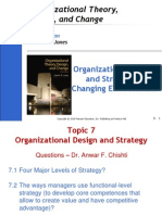 51043927 Organizational or Organisational Design and Strategy in Changing Environment