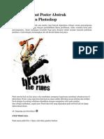 Cara Membuat Poster Abstrak Menggunakan Photoshop