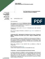Lettre d'information mensuelle NGP décembre 2012