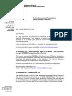 Monthly Information Letter December 2012