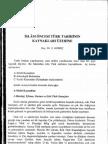 İSLAM ÖNCESİ TÜRK TARİHİNİN KAYNAKLARI ÜZ ERİNE CİLT-20 SAYI-31 2000