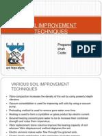 Soil Improvement Techniques
