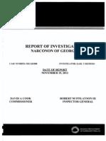 2012 11 19 GaDCH OfficeOfInspectorGeneral InvestigativeReport Ocr