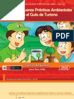 Manual de Buenas Prácticas Ambientales para el Guía de Turismo