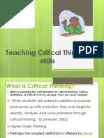 Critical_Thinking Workshop Thurdsay Me