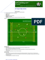 Directional Possession With Targets (High Aerobic)