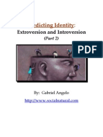 Predicting Identity Extroversion and Introversion Part 2 - Social Natural