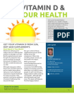 Vitamin D and Your Health