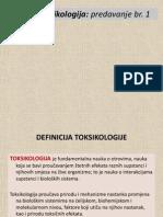 toksikologija 1