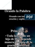 Orando La Palabra # 4 IBE Callao