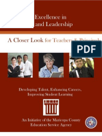 A Closer Look for Teachers and Principals.