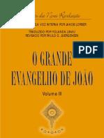 O Grande Evangelho de Joao - vol. 3 (Jacob Lorber)