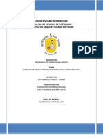 Ejercicio Modelado UML