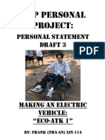 Making an Electric Vehicle