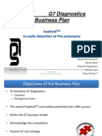 G7 Diagnostics  Business Plan