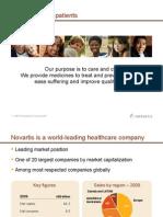 Novartis Company PDF