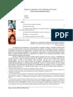 Piquetes y piqueteros en la Argentina de la crisis