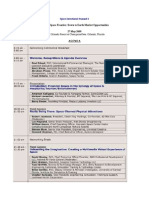 Space Investment Summit 6 Agenda - 5-27-09