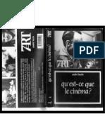"""André Bazin, """"Montage interdit"""""""