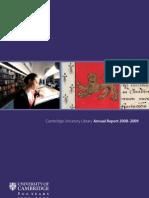 Cambridge University Library Annual Report 2008-2009