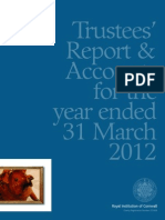 Royal Institution of Cornwall Annual Report 2011-2012