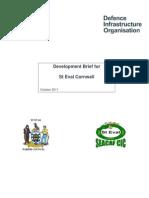 RAF St Eval Development Brief 2011