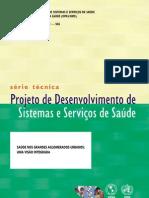 Projeto de Desenvolvimento de Sistemas e Serviços de Saúde - 3